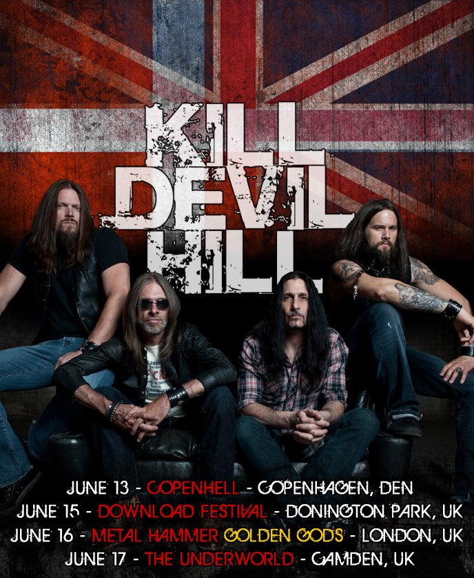 Aerosmith Headlining Download Festival Kill Devil Hill Added