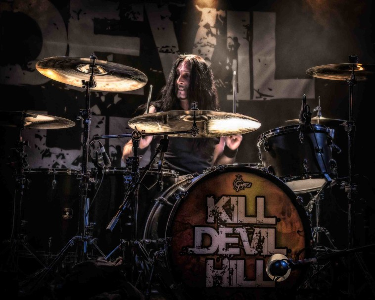 Johnny Kelly of Kill Devil Hill Vamp'd Las Vegas