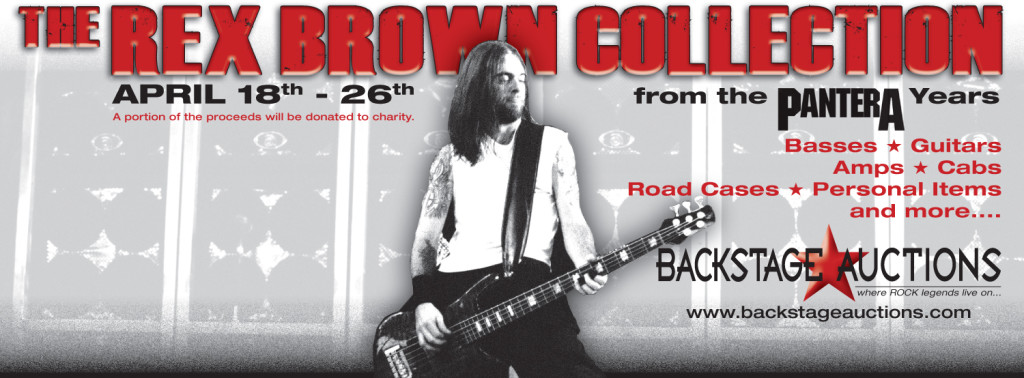 Rex Brown Auction Vintage Gear